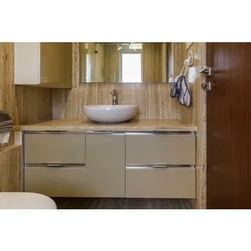 Modern Wooden Designer Bathroom Vanity Size 1500x700mm Rs 13500 Piece Id 21164801755