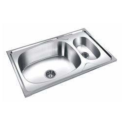 ss kitchen sinks moen chateau faucet stainless steel double bowl sink mini