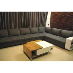 Modern Sofa L Shape Gray Fabric Texture Pinewood Set Rs 70000 Dreamland Steel