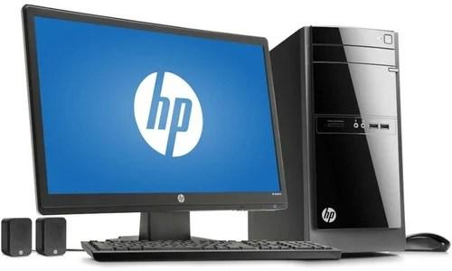 HP Desktop Computer  Intel I38GB1TB Memory Size RAM