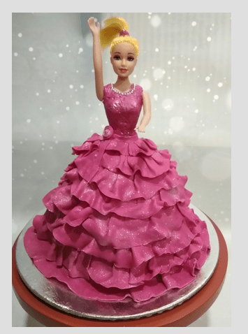 Barbie Doll Cake At Rs 1800 Piece Theme Cake Id 16338356412