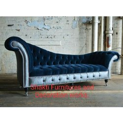 bespoke chesterfield chaise lounge sofa