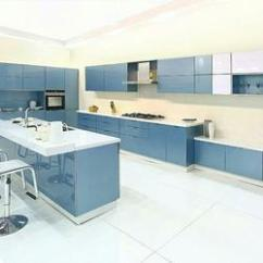Modular Kitchen Industrial Looking Ideas Designs Island Glass Shutters Service
