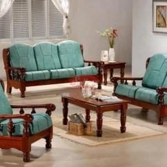 Wooden Sofa Designs For Living Room Ava Velvet Tufted Sleeper Review Set Teakwood Manufacturer From Chennai