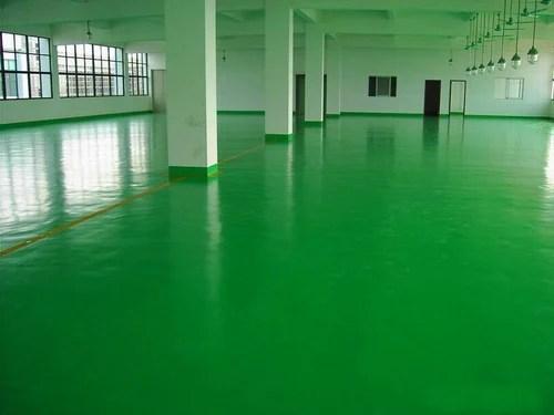 Green Polyurethane Epoxy Floor Coating Rs 1200 square