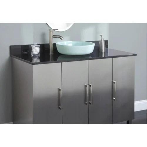 Stainless Steel Bathroom Vanity Cabinet At Rs 12000 Unit ब थर म व न ट क ब न ट Touchwood Modular Kitchen And Wardrobes Delhi Id 16524651155
