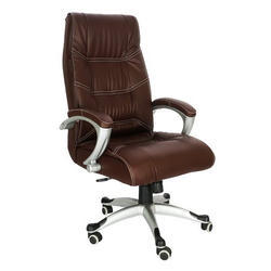 revolving chair hsn code baby boppy durian berlin brown high back leather चमड क office