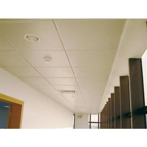 golden false ceiling tile
