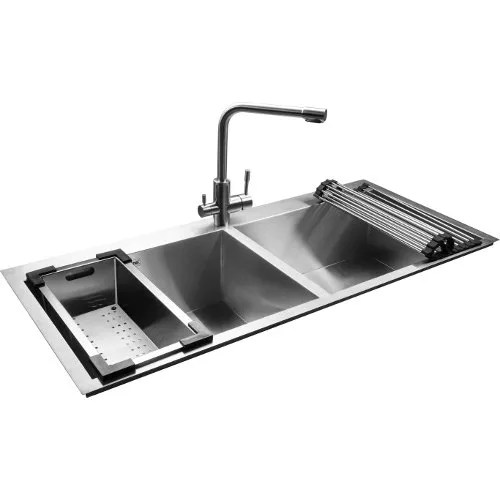 jayna combo 06 double bowl kitchen sink