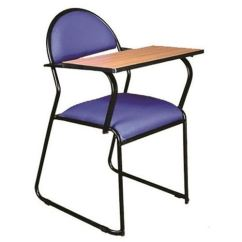 Portable Study Chair Chairs That Turn Into Beds Writing Pad With Foldable