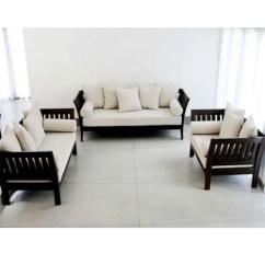 Wooden Sofa Sets Designs India Cream Leather Recliner Brown Designer Set Rs 18000 Multi X Technologies