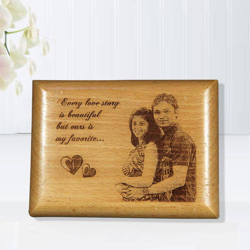 personalized gift wooden engraved