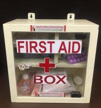 MS Wall Mounting First Aid Box, Rs 1450 /piece, Amit ...