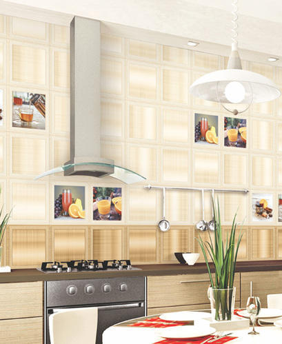 kitchen wall tiles table for 6 ceramic 3d digital thickness 8 mm rs 130