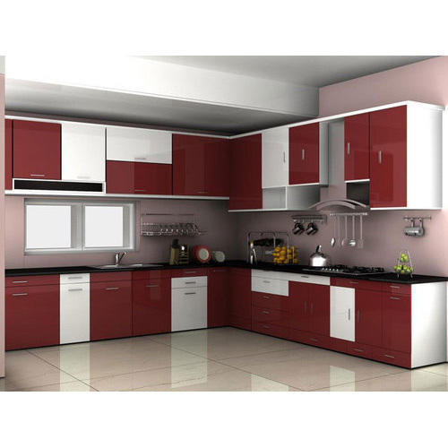 modular kitchens kitchen faucet kohler frp home rs 75000 piece the beauty id