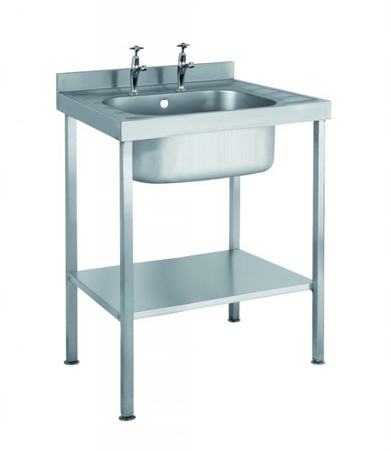 Ss Sink With Drainboard