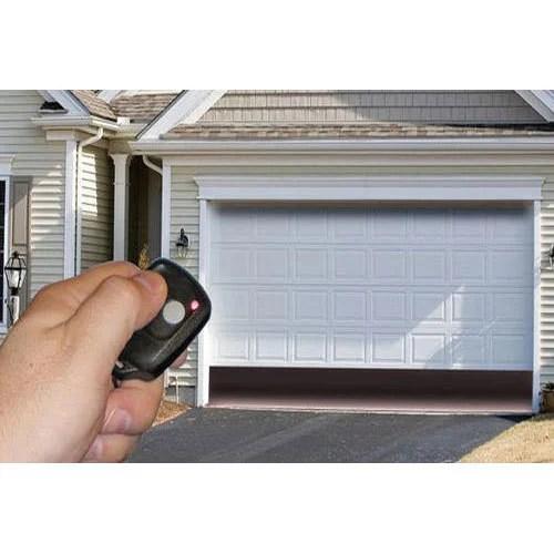 White Automatic Garage Door Rs 25000 piece Anshul Enterprises  ID 14748523562