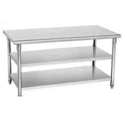 Steel Kitchen Table Best Degreaser Tables Work Manufacturer From New Delhi