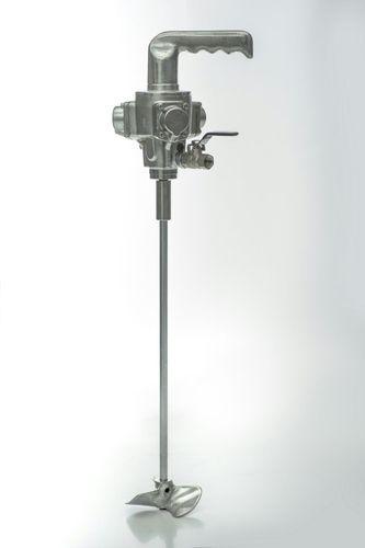 Automatic Agitator And Paint Spray Hose Pneumatic Paint