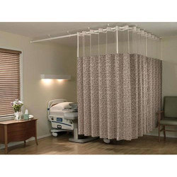 sliding cubicle curtain track