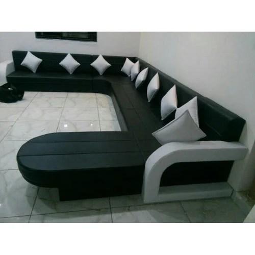 u sofa how to fix cat scratches on leather designer shape set य आक र क स फ ट