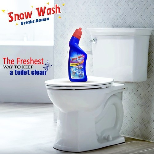 Snow Wash Bathroom Cleaner For Toilet Germs Cleaning Packaging Type Bottle Rs 19 Bottle Id 19980818788
