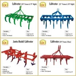 TK Agro Industries, Indore - Manufacturer of Cultivators Machine and Plough Machine