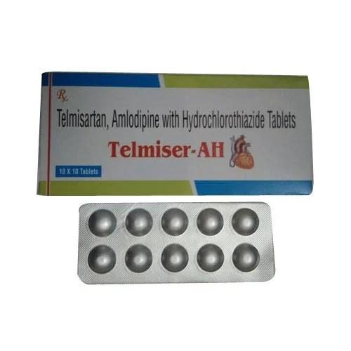 Telmisartan Amlodipine Tablets Packaging Size: 10x10 ...