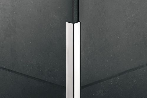 stainless steel edge trim for tiles outside corner