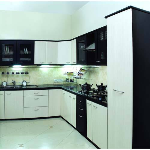 modular kitchen sink and faucet combo l shaped high gloss rs 185000 unit mangal