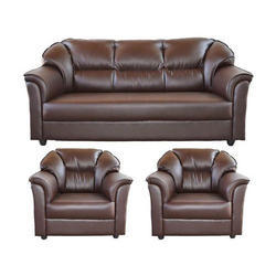 set of leather sofas soft sofa sets brown rs 54000 nice furniture id 16773191591