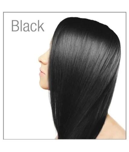 pure hair dye black