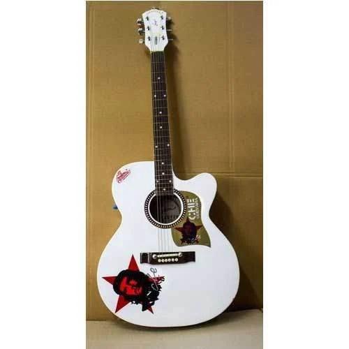 signature brand acoustic guitar