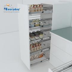 Kitchen Wire Storage White Island With Butcher Block Top Everyday Wb24208 Basket Edbwb24208 Rs 1630 Piece