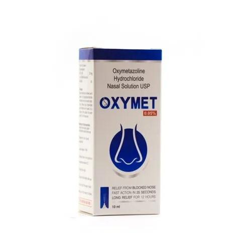 Oxymet 0.05% (Oxymetazoline Hydrochloride Nasal Solution ...
