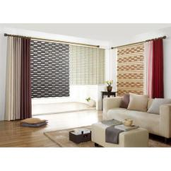 Blinds For Living Room Sheer Cafe Curtains White Zebra Rs 110 Square Feet Nath