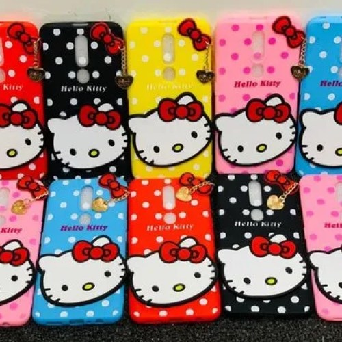 Comfortable And Flexible Hello Kitty Back Case Rs 90 Piece Romax Communication Id 21245690855