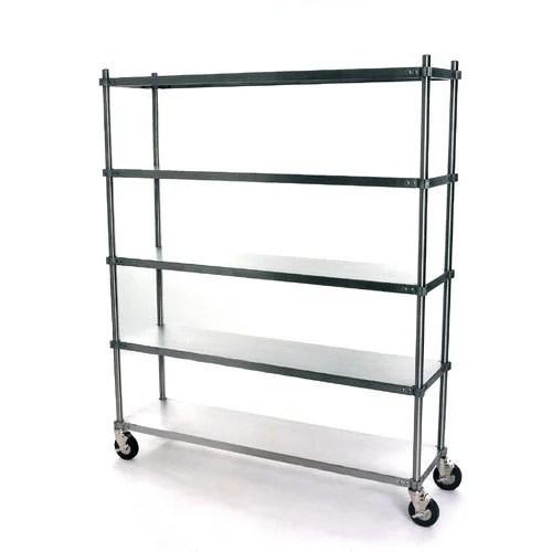 ss storage wheel rack
