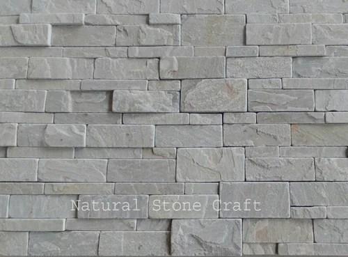 Stone Strip Quartzite Wall Cladding Tiles, Rs 130 /square