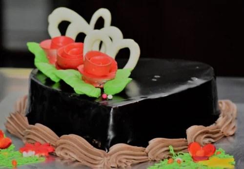 Chocolate Heart Cake At Rs 890 Piece Chocolate Cake Id 19781001888