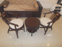 bedroom chair with table mat walmart at rs 13500 set ब डर म क र स
