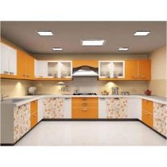 Moduler Kitchen Range Modern U Shaped Modular Rs 1150 Square Feet Fancy