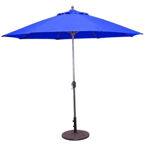 garden umbrella with wood frame