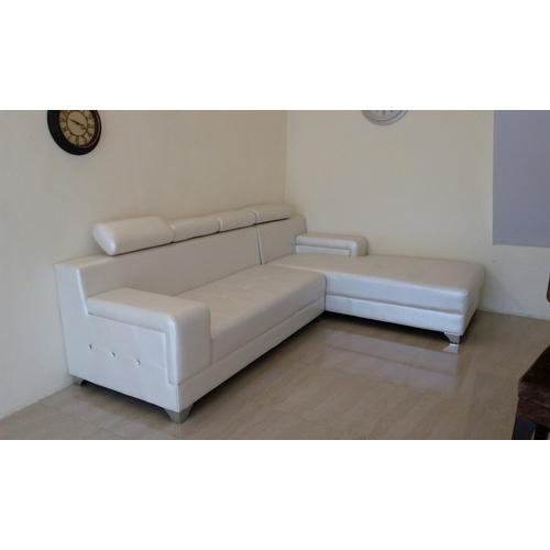 leather corner sofa set