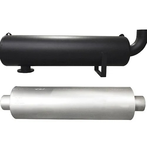 generator exhaust piping and insulation