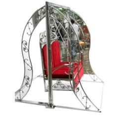 Steel Chair Jhula Hanging Egg Za Outdoor Stainless At Rs 12000 Piece Johripur New