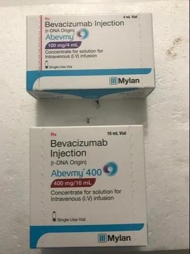 Bevacizumab Injection 100mg Or 400mg at Rs 100/pack ...