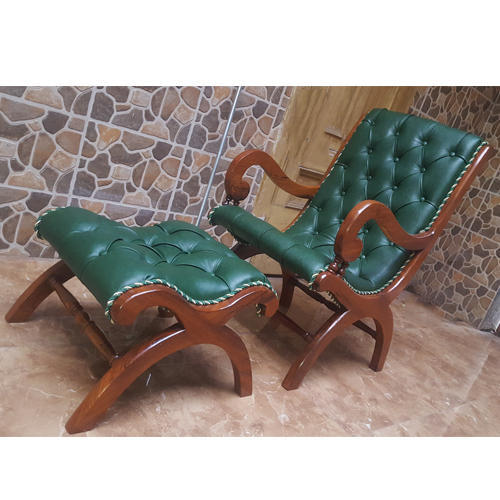 easy chairs with footrests chair cover for wedding wholesale turquoise footrest at rs 15500 piece patel nagar