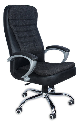 revolving chair for study office glides vishal brown and black warranty 6 months as manufacturing defects only