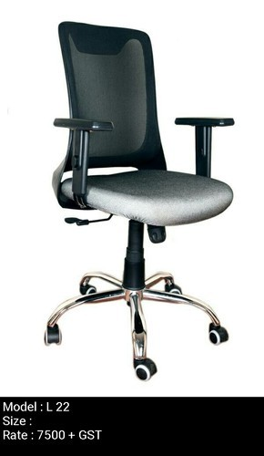 revolving chair gst rate outdoor cafe table and chairs heavy duty office l22 rs 7500 piece jetage industries id